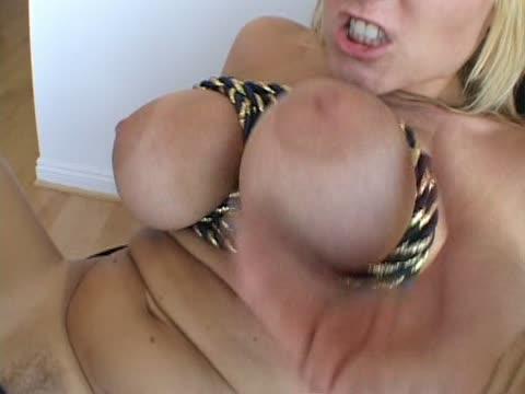 Big Titis Tied Up