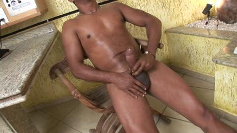 Big Brown Dick Stroke